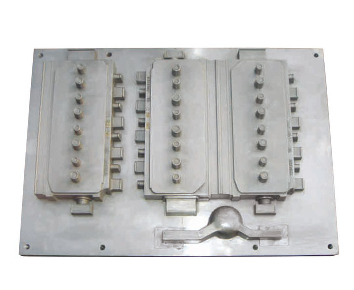 缸盖静压线模具2